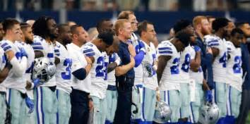 players bench dallas dallas cowboys will bench players who disrespect the flag