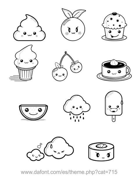 imagenes de comida con caritas kawaii comida con carita comida con caritas pinterest