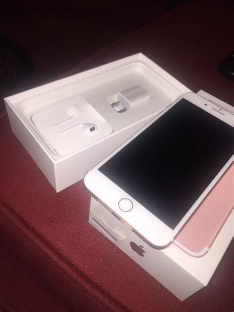 apple iphone 7 plus 128gb brand new never used at t network only gold cell phones in san