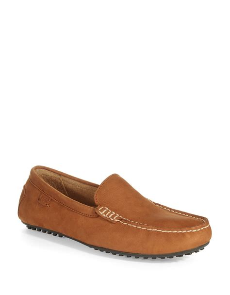 polo ralph loafers polo ralph woodley loafers in brown for polo