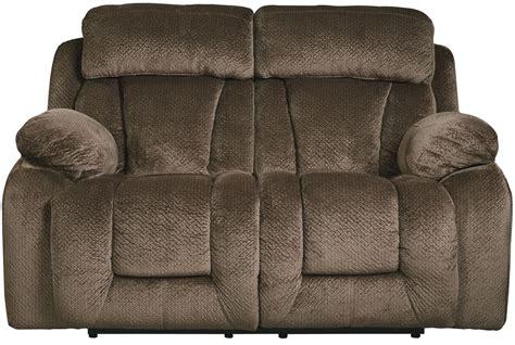 tan reclining sofa stricklin brown reclining loveseat from ashley 8650386