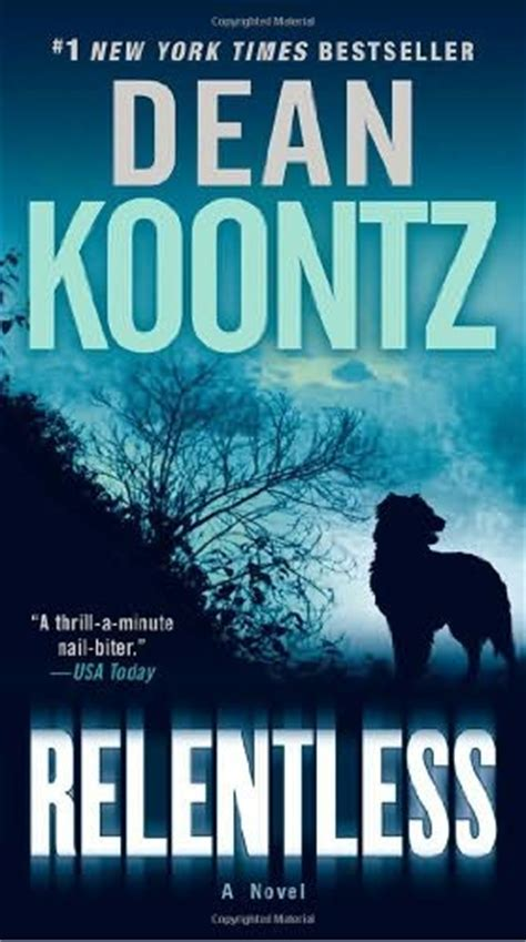 a relentless books relentless by dean koontz