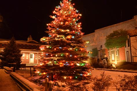 christmas tree lighting ceremony 2013 town of tazewell