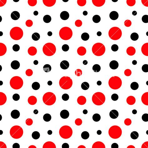 red dot pattern on back black and white and red polka dot background www
