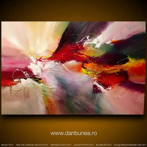 large abstract paintings for sale large abstract painting by dan bunea quot glorious