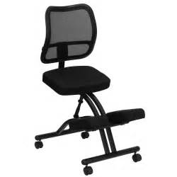 Office Chair Black Mesh Kneeling Office Chairs Benefits
