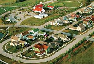 Green Homes Designs planned agricultural communities village homes modern