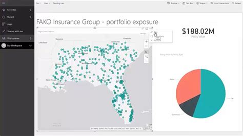 data view vs layout view arcgis introduction to arcgis maps for power bi youtube