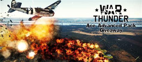 war thunder ace advanced pack giveaway get beta keys - War Thunder Vehicle Giveaway