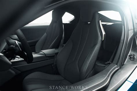 Bmw Interior Seats by Stance Works Look At The Bmw I8 On American Soil