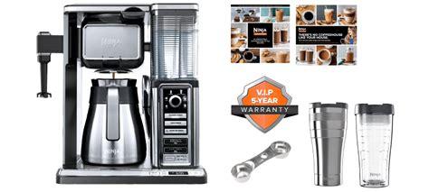 ninja coffee bar clean light on exclusive offer ninja coffee bar 174 system free gift