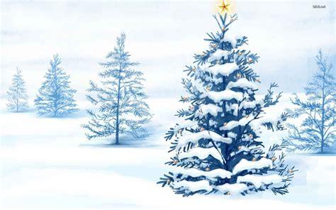 arboles de navidad con nieve fondos de navidad con nieve para el escritorio gratis imagenes de navidad