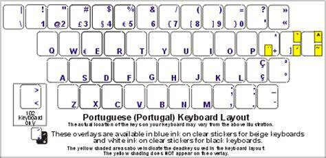 keyboard layout portuguese portuguese portugual keyboard labels dsi computer