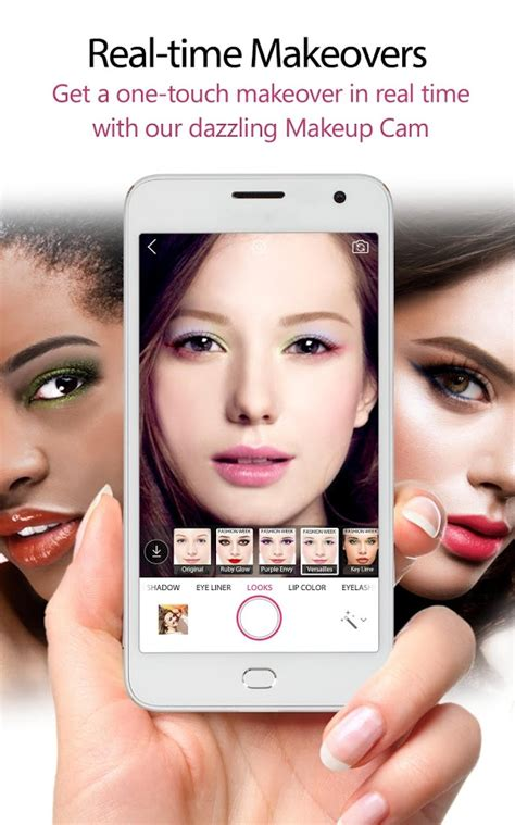makeover app video youcam makeup selfie camera magic makeover android
