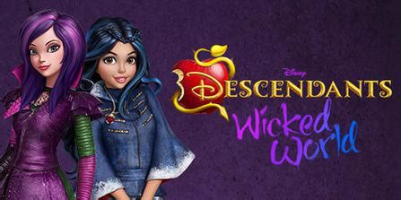 descendants: wicked world wikipedia