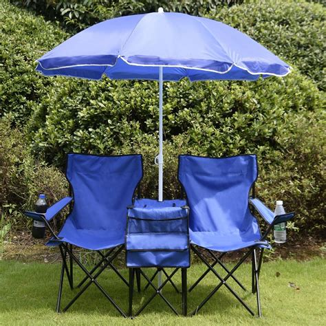 folding chair with canopy and cooler equipment folding picnic cing chair with