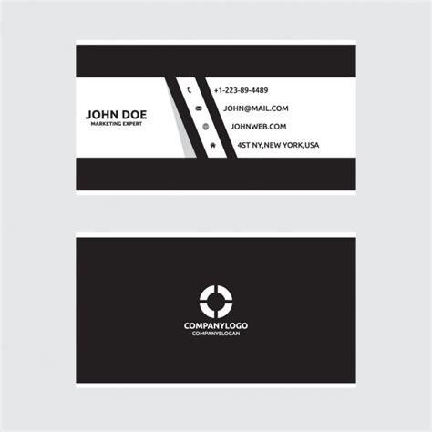 weiss schwarz card template schwarz wei 223 design visitenkarte der
