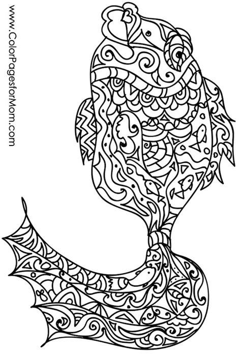 advanced fish coloring pages animals 54 advanced coloring pages