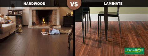 Difference between hardwood and laminate