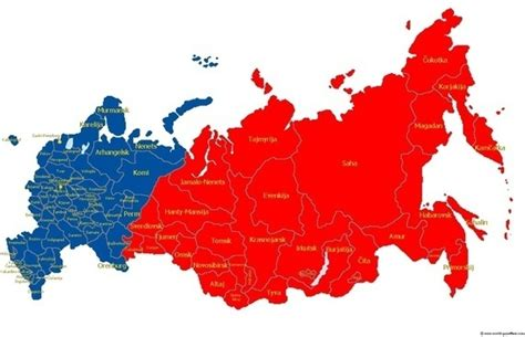 russia map european part is russia part of europe updated