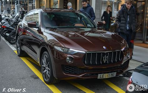 maserati levante red maserati levante spotted on the streets of geneva