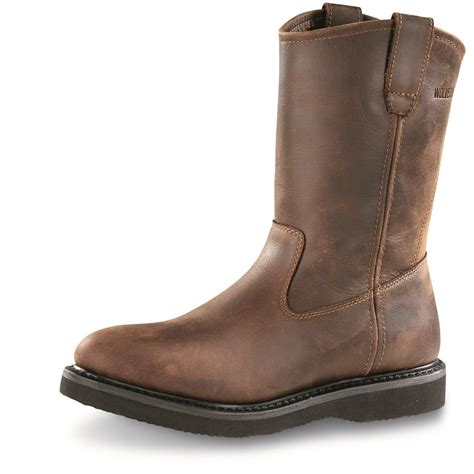 wolverine s boots wolverine s wellington boots 87292 work boots at