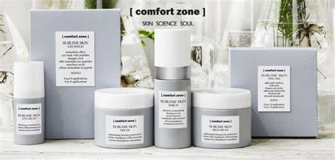 comfort zone face products nos soins institut de beaut 233 vague instant
