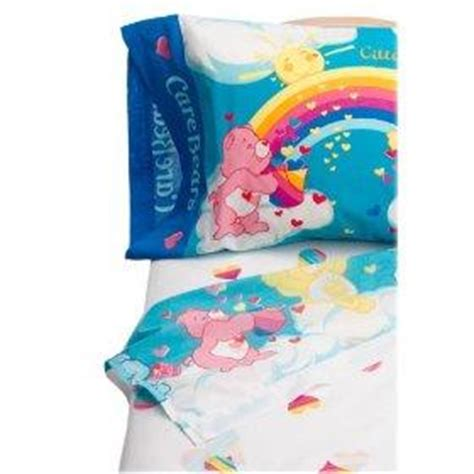 care bear bedding care bears twin size comforter and sheet bedding set ebay