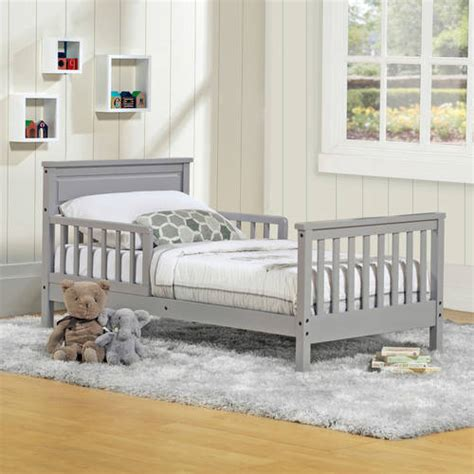 grey toddler bed baby relax haven toddler bed choose your finish walmart com