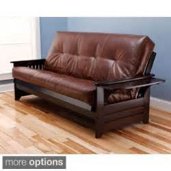 leather futons futon beds mattresses overstock