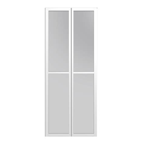 Billy Glass Door Billy Olsbo Glass Door White 2x Design And Decorate Your Room In 3d