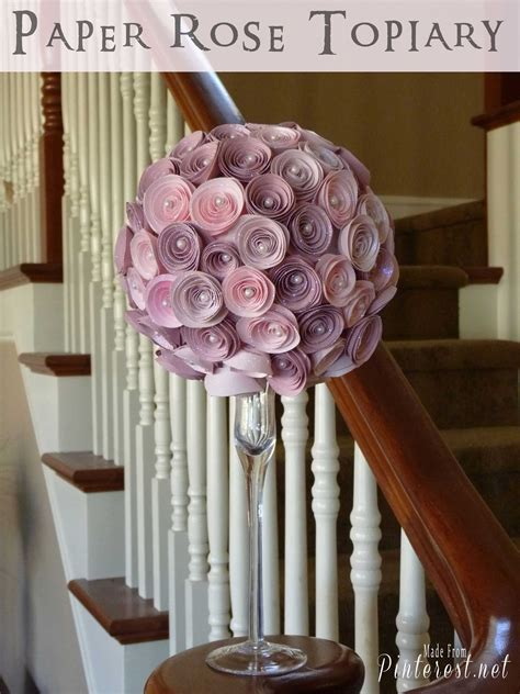 paper flower topiary tutorial paper whirligig tgif this grandma is fun