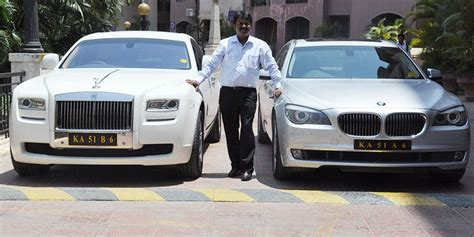 roll royce bangalore ramesh babu the barber who owns a rolls royce