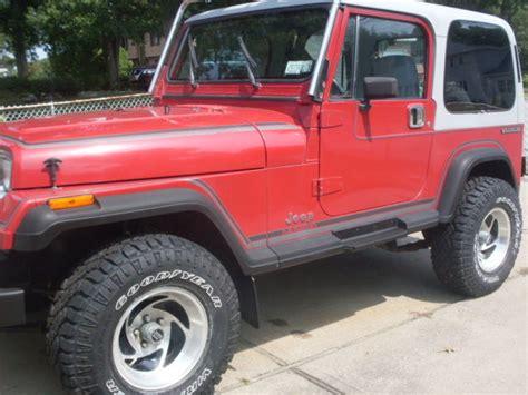 Jeep Wrangler Laredo 1988 Jeep Wrangler Laredo Low Clean