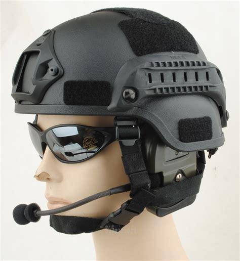Yudistra Helm Tactical Mich 2000 Black Gosir mich 2001 helmet a tacs fg mich2001 atfg 48 00 airsoft shop
