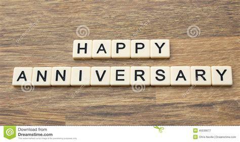 Happy Anniversary stock image. Image of love, alphabet