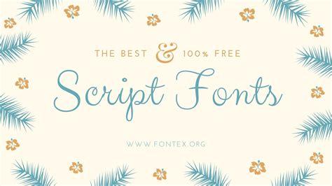 best script fonts 34 best script fonts for 2017 with free