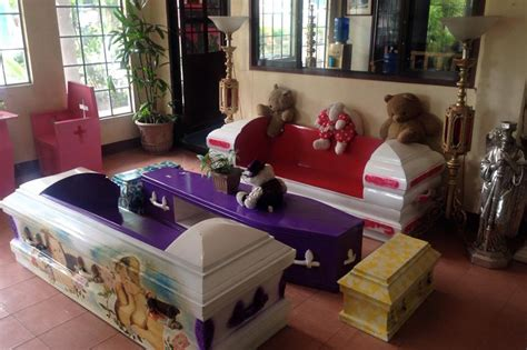 furnishing eternity a a a coffin and a measure of books look coffin inspired furniture in cebu abs cbn news