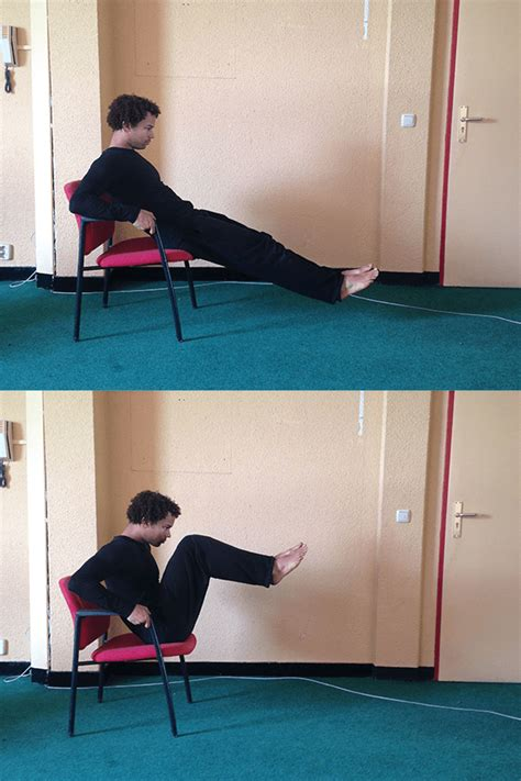 couch crunches 8 calisthenic workouts with a chair bar brothers