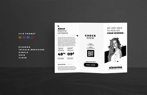 foldable brochure template tri fold brochure template graphic cloud
