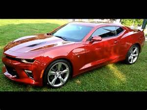 2016 camaro ss red walk around with some details youtube