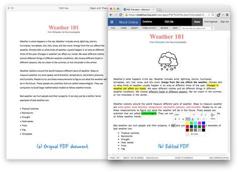 convert pdf to word editable online free free online pdf to editable word document converter