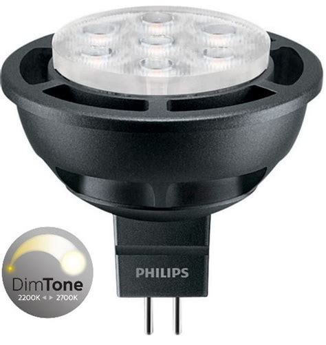 Master Led Philips philips master led mr16 6 5w 35w 36deg dimtone