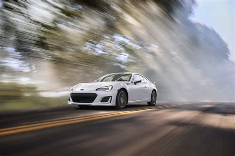 subaru brz front 2017 subaru brz refreshed adds optional performance