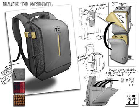 1 hour design challenge back to school bag winners core77