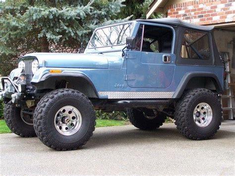 84 Jeep Cj7 84 Jeep Cj7 In Blue Metallic Vehicles I Like