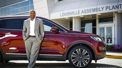 Daryl Ford by Louisville Assembly Plant Manager Daryl Sykes Helping Ford