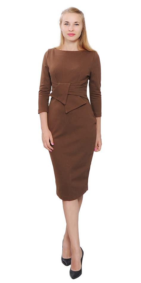 Dress Rumbai Retro 96 wiggle midi dress vintage retro 1950s evening work
