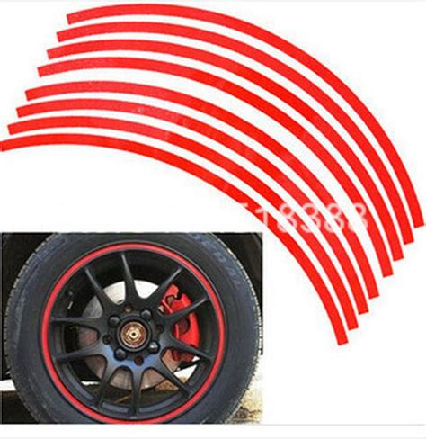 Roller Aufkleber Streifen by Car Styling 18 Strips 3m High Quality Reflective Car