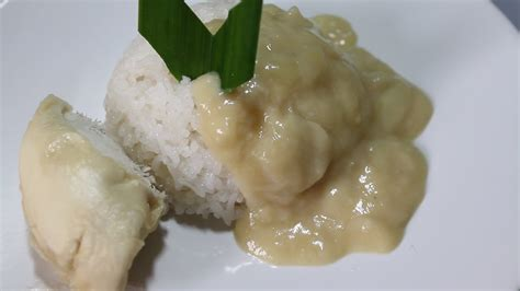 resep ketan durian menu buka puasa youtube